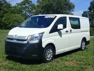 2019 Toyota HiAce GDH300R LWB French Vanilla 6 Speed Manual Van