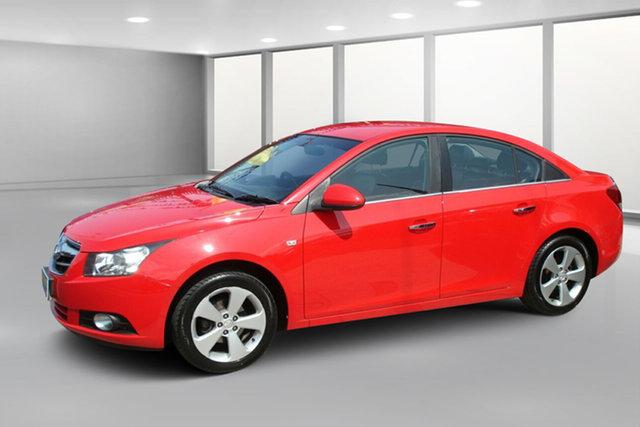 Used Holden Cruze JG CDX, 2009 Holden Cruze JG CDX Red 5 Speed Manual Sedan