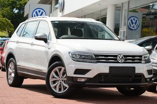2019 Volkswagen Tiguan 5N MY20 132TSI Comfortline DSG 4MOTION Allspace Pure White 7 Speed.