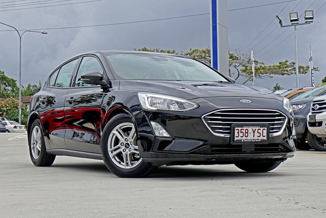 Used Ford Focus SA 2019MY Trend, 2018 Ford Focus SA 2019MY Trend Black 8 Speed Automatic Hatchback