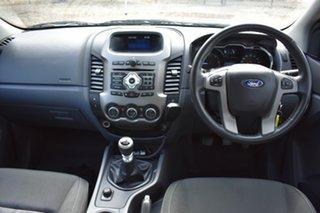 2012 Ford Ranger PX XLT Super Cab White 6 Speed Manual Utility