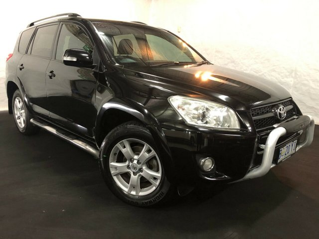 Used Toyota RAV4 ACA33R MY11 Cruiser, 2011 Toyota RAV4 ACA33R MY11 Cruiser Black 5 Speed Manual Wagon