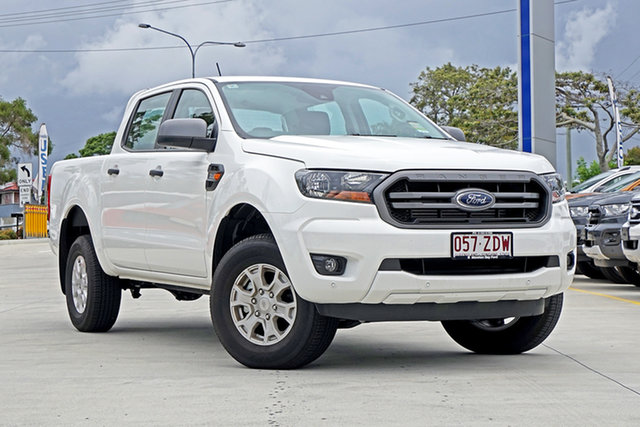 Used Ford Ranger PX MkIII 2019.75MY XLS Pick-up Double Cab, 2019 Ford Ranger PX MkIII 2019.75MY XLS Pick-up Double Cab Arctic White 6 Speed Sports Automatic