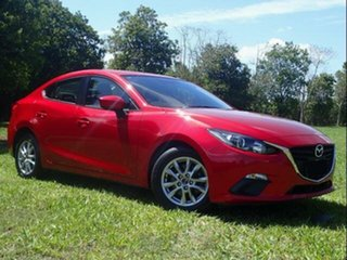 2016 Mazda 3 BN MY17 Neo Red 6 Speed Manual Sedan.