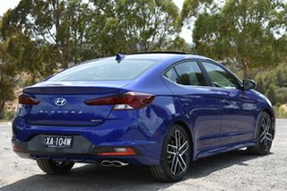2019 Hyundai Elantra AD.2 MY20 Sport DCT Premium Intense Blue 7 Speed Sports Automatic Dual Clutch.