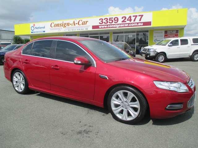 Used Ford Falcon FG G6E, 2011 Ford Falcon FG G6E Red 6 Speed Sports Automatic Sedan