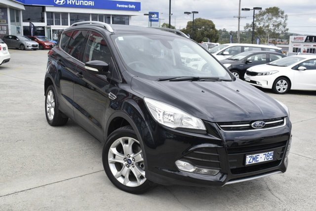Used Ford Kuga TF Trend AWD, 2013 Ford Kuga TF Trend AWD Black/Grey 6 Speed Sports Automatic Wagon