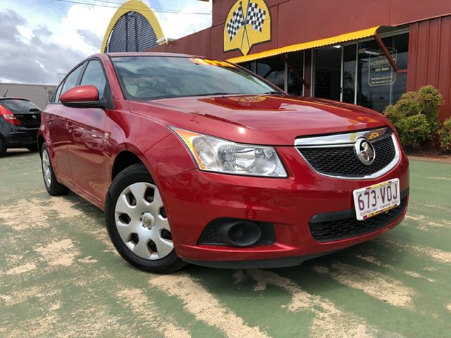Used Holden Cruze JG CD, 2011 Holden Cruze JG CD 6 Speed Sports Automatic Sedan