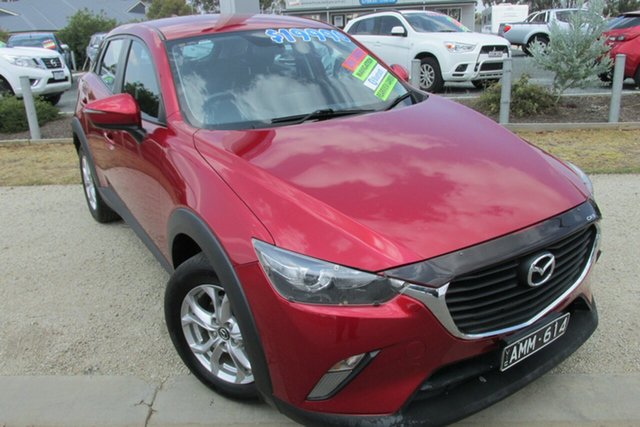 Used Mazda CX-3 DK2W7A Maxx SKYACTIV-Drive, 2016 Mazda CX-3 DK2W7A Maxx SKYACTIV-Drive Soul Red 6 Speed Sports Automatic Wagon