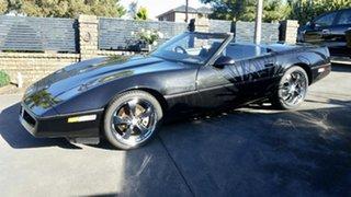 1987 Chevrolet Corvette 350 V8 Black.