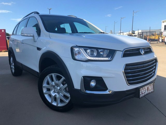 Used Holden Captiva CG MY16 Active 2WD, 2016 Holden Captiva CG MY16 Active 2WD White 6 Speed Sports Automatic Wagon