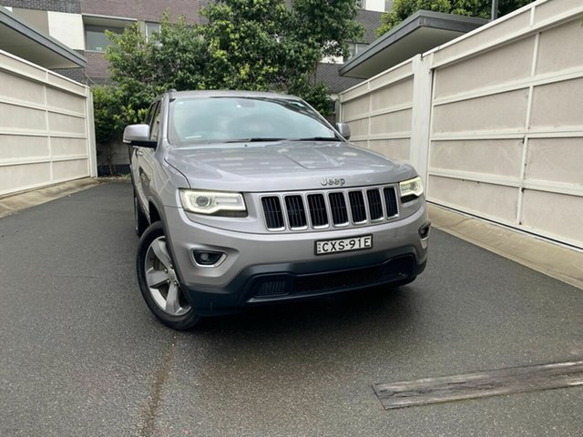Used Jeep Grand Cherokee WK MY15 Laredo 4x2, 2014 Jeep Grand Cherokee WK MY15 Laredo 4x2 Silver 8 Speed Sports Automatic Wagon