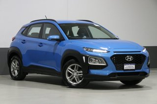 2018 Hyundai Kona OS Active (FWD) Blue 6 Speed Automatic Wagon.
