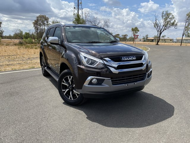New Isuzu MU-X MY19 LS-T Rev-Tronic, 2019 Isuzu MU-X MY19 LS-T Rev-Tronic Havana Brown 6 Speed Sports Automatic Wagon