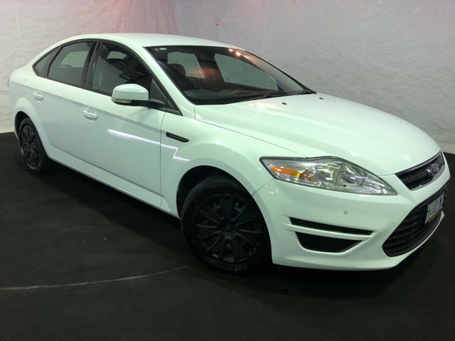 Used Ford Mondeo MC LX PwrShift TDCi, 2012 Ford Mondeo MC LX PwrShift TDCi White 6 Speed Sports Automatic Dual Clutch Hatchback