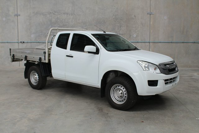 Used Isuzu D-MAX MY15 SX Space Cab, 2014 Isuzu D-MAX MY15 SX Space Cab White 5 speed Automatic Cab Chassis