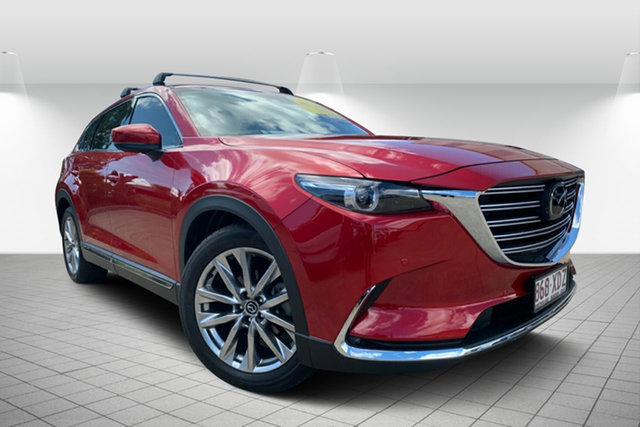 Used Mazda CX-9 TC Azami SKYACTIV-Drive i-ACTIV AWD, 2017 Mazda CX-9 TC Azami SKYACTIV-Drive i-ACTIV AWD Red 6 Speed Sports Automatic Wagon