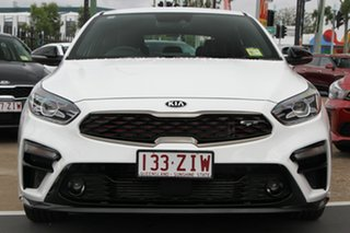 2019 Kia Cerato BD MY20 GT DCT Clear White 7 Speed Sports Automatic Dual Clutch Hatchback.