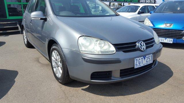 Used Volkswagen Golf V Comfortline, 2005 Volkswagen Golf V Comfortline Grey 6 Speed Manual Hatchback
