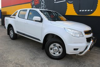 2015 Holden Colorado RG MY15 LS Crew Cab Summit White 6 Speed Sports Automatic Utility.