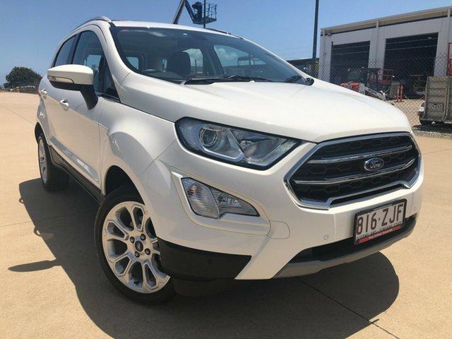 Used Ford Ecosport BL Titanium, 2017 Ford Ecosport BL Titanium White 6 Speed Automatic Wagon
