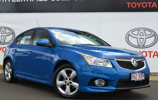 Used Holden Cruze JH Series II MY13 SRi, 2012 Holden Cruze JH Series II MY13 SRi Blue 6 Speed Sports Automatic Hatchback