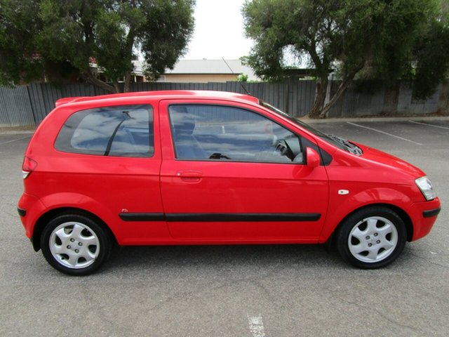 Used Hyundai Getz TB FX, 2003 Hyundai Getz TB FX 5 Speed Manual Hatchback