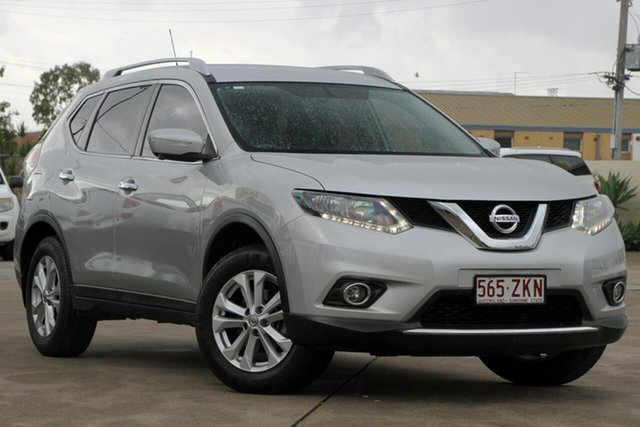 Used Nissan X-Trail T32 ST-L X-tronic 2WD, 2015 Nissan X-Trail T32 ST-L X-tronic 2WD Brilliant Silver 7 Speed Constant Variable Wagon