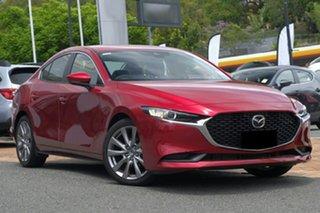 2019 Mazda 3 BP2S76 G20 SKYACTIV-MT Evolve Soul Red 6 Speed Manual Sedan.