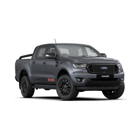 New Ford Ranger PX MkIII 2020.25MY FX4 Pick-up Double Cab, 2019 Ford Ranger PX MkIII 2020.25MY FX4 Pick-up Double Cab Meteor Grey 6 Speed Sports Automatic