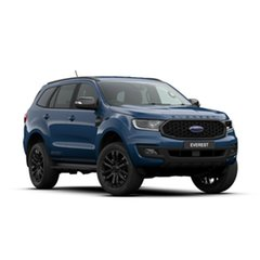 2019 Ford Everest UA II 2020.25MY Sport 4WD Deep Crystal Blue 6 Speed Sports Automatic Wagon