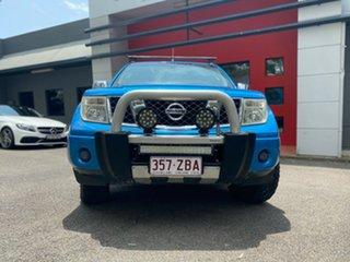 2008 Nissan Navara D40 ST-X Blue 5 Speed Automatic Utility