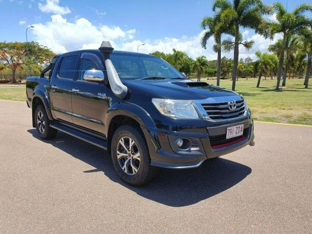 Used Toyota Hilux KUN26R MY14 Black Double Cab Limited Edition, 2014 Toyota Hilux KUN26R MY14 Black Double Cab Limited Edition Black 5 Speed Automatic Utility