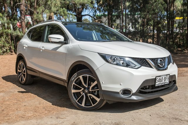 Used Nissan Qashqai J11 TI, 2014 Nissan Qashqai J11 TI White 1 Speed Constant Variable Wagon