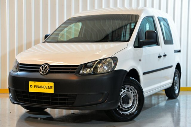 Used Volkswagen Caddy 2KN MY14 TDI250 BlueMOTION Maxi DSG, 2014 Volkswagen Caddy 2KN MY14 TDI250 BlueMOTION Maxi DSG White 7 Speed Sports Automatic Dual Clutch
