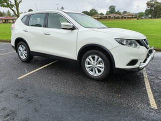 2017 Nissan X-Trail T32 ST X-tronic 2WD Ivory Pearl 7 Speed Constant Variable Wagon.