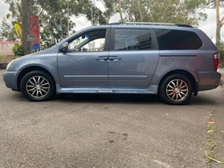 2011 Kia Grand Carnival VQ MY12 SLi Blue 6 Speed Sports Automatic Wagon