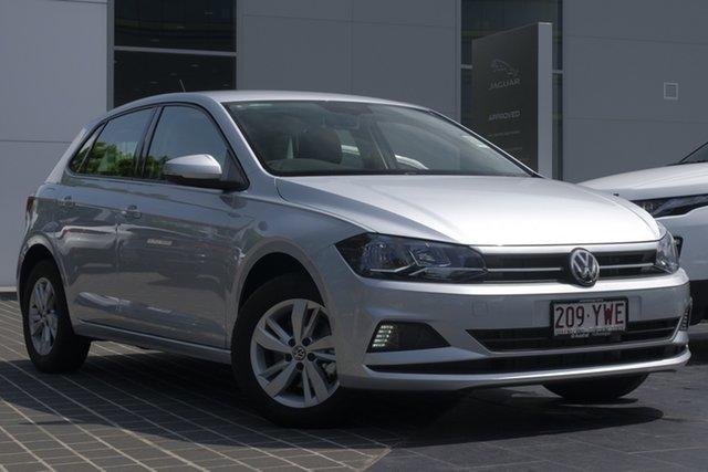 Demo Volkswagen Polo AW MY19 85TSI DSG Comfortline, 2018 Volkswagen Polo AW MY19 85TSI DSG Comfortline Reflex Silver 7 Speed