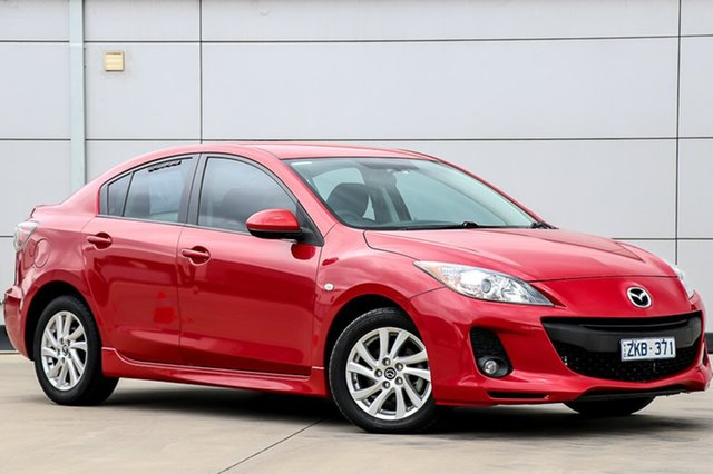 Used Mazda 3 BL10F2 MY13 Maxx Activematic Sport, 2012 Mazda 3 BL10F2 MY13 Maxx Activematic Sport Velocity Red 5 Speed Sports Automatic Sedan