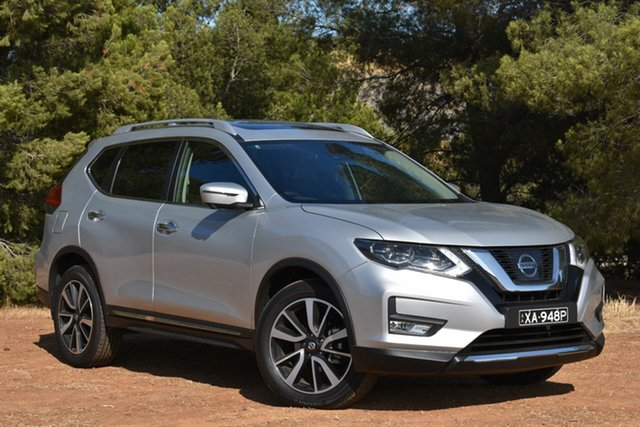 Demo Nissan X-Trail T32 Series II Ti X-tronic 4WD, 2019 Nissan X-Trail T32 Series II Ti X-tronic 4WD Brilliant Silver 7 Speed Constant Variable Wagon