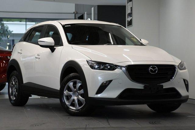 New Mazda CX-3 DK2W7A Neo SKYACTIV-Drive FWD Sport, 2019 Mazda CX-3 DK2W7A Neo SKYACTIV-Drive FWD Sport Snowflake White 6 Speed Sports Automatic Wagon