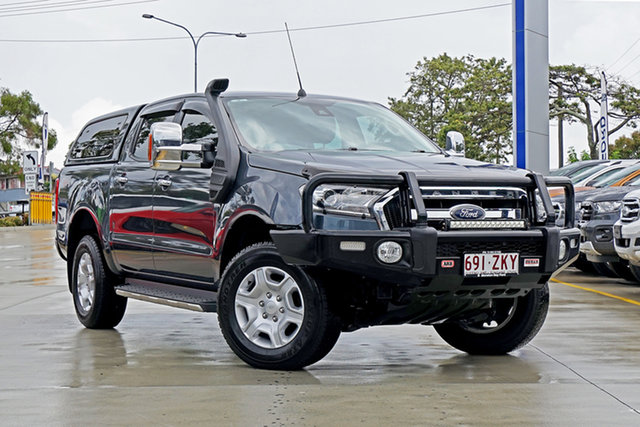 Used Ford Ranger PX MkII XLT Double Cab, 2016 Ford Ranger PX MkII XLT Double Cab /ebony Int 6 Speed Sports Automatic Utility