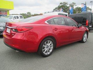 2014 Mazda 6 GJ1031 MY14 Sport SKYACTIV-Drive Red 6 Speed Sports Automatic Sedan