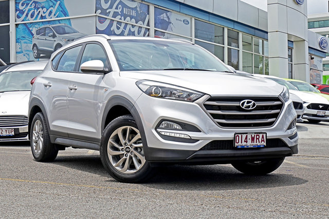 Used Hyundai Tucson TL Active X 2WD, 2016 Hyundai Tucson TL Active X 2WD Silver 6 Speed Sports Automatic Wagon
