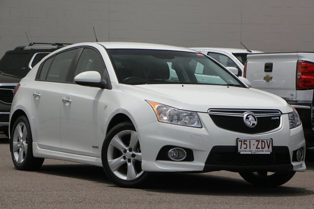 Used Holden Cruze JH Series II MY12 SRi, 2012 Holden Cruze JH Series II MY12 SRi White 6 Speed Sports Automatic Hatchback