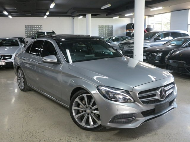 Used Mercedes-Benz C-Class W205 C250 7G-Tronic +, 2014 Mercedes-Benz C-Class W205 C250 7G-Tronic + Silver 7 Speed Sports Automatic Sedan