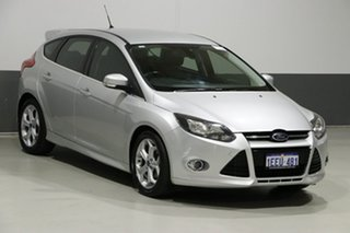 2013 Ford Focus LW MK2 Sport Silver 6 Speed Automatic Hatchback