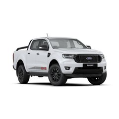 2019 Ford Ranger PX MkIII 2020.25MY FX4 Pick-up Double Cab Arctic White 6 Speed Sports Automatic