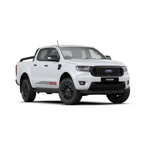 New Ford Ranger PX MkIII 2020.25MY FX4 Pick-up Double Cab, 2019 Ford Ranger PX MkIII 2020.25MY FX4 Pick-up Double Cab Arctic White 6 Speed Sports Automatic