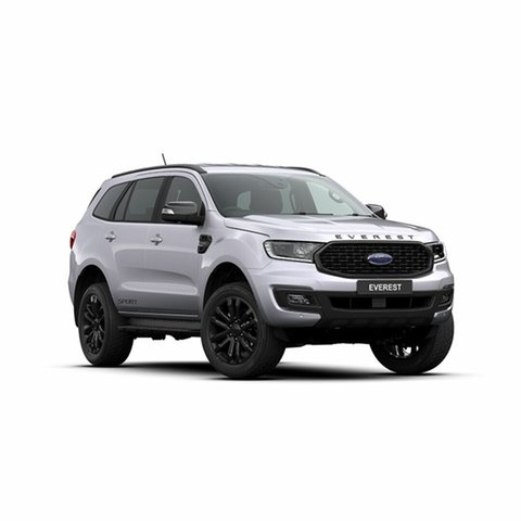 New Ford Everest UA II 2020.25MY Sport 4WD, 2019 Ford Everest UA II 2020.25MY Sport 4WD Aluminium 10 Speed Sports Automatic Wagon